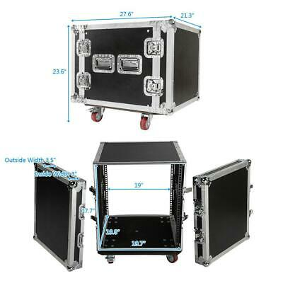 "19"" Space Rack Case Two Door 10U DJ Equipment Cabinet for Audio Equipment"
