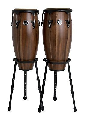 LP Latin Percussion LPA646B-SW Aspire Conga Set - 10'' & 11'' Satin Walnut