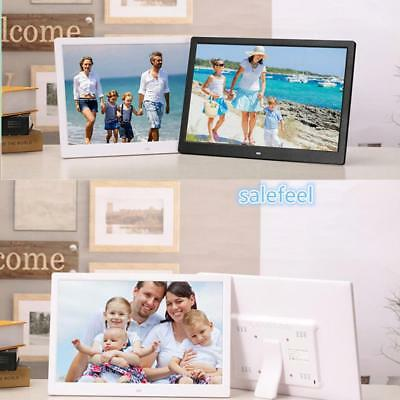 10/13.3in Digital Photo Frame 1366*768 LCD Screen RC Picture with Calendar Clock