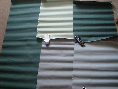 Joblot of Shades of Green 16 Count Aida Embroidery Fabric