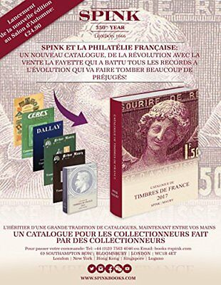Spink Maury Catalogue de Timbres de France 2017, Maury 9781907427756 New-.