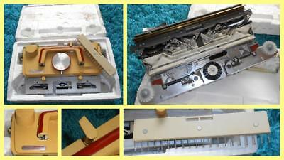 Vintage Knitting Machine Empisal Knitmaster MOD.360 / 260L Lace Carriage