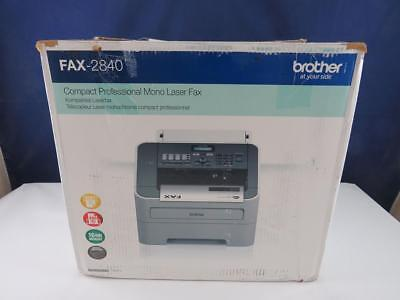 Brother FAX-2840 Laser Faxgerät Fax Laserfax