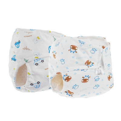 Infant Kids Baby Adjustable Reusable Cloth Diapers Baby Waterproof Nappies