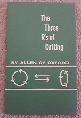 Allen Scythe & Cutters Machine Catalogue - The Three R's Of Cutting