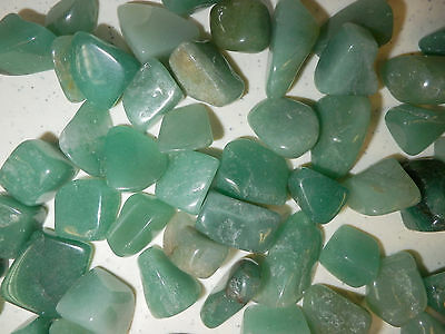 Tumbled Green Aventurine Stone 3 to 8 gram small size pieces 180 gram Lot
