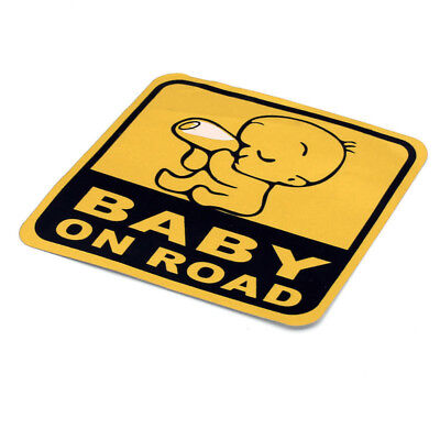 Baby On Board Car Sticker Reflective Warning Decal Stickers Best Present Gifts