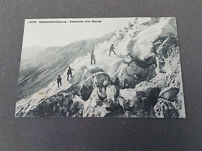 Gletscherbesteigung Helvetia Ascension d´un Glacier ca. 1910