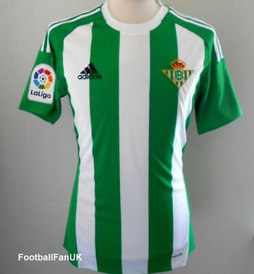 REAL BETIS Adidas Official Home Shirt 2016-2017 NEW Camiseta Jersey 2016/17