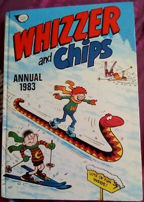 Whizzer And Chips Annual 1983. Very Good Condition.