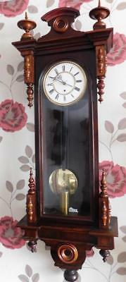 month running single weight vienna wall clock