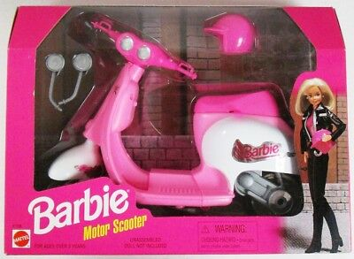 1997 Barbie Motor Scooter (NEW)