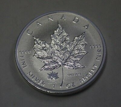 2017 Canada $5 1  OZ Silver .9999 Maple Leaf  PRIVY MARK