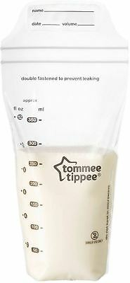 Tommee Tippee CLOSER TO NATURE MILK STORAGE BAGS x36 Breast Feeding BN