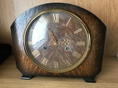 Lovely 1940's Smiths Enfield Chiming Mantel Clock