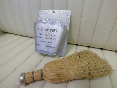 1913 Geo. Hohmeier Furnishing -  Wall Hanger Hand Broom - Goderich, Ontario