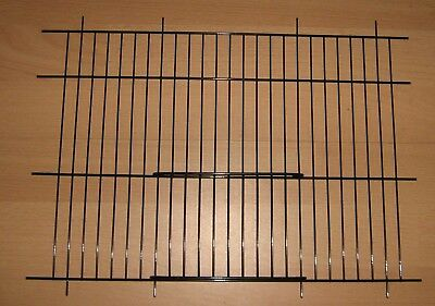 """2 x BLACK CANARY / PARAKEET CAGE / CARRY UNI CAGE FRONTS 14"""" x 10"""" - WADES"""