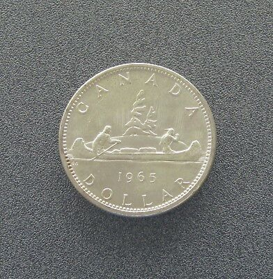 Uncirculated Canada 1965 Silver Dollar - Item# 6998