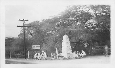WWII 1940s US Navy Rec Center Camp Andrews Hawaii Photo #2