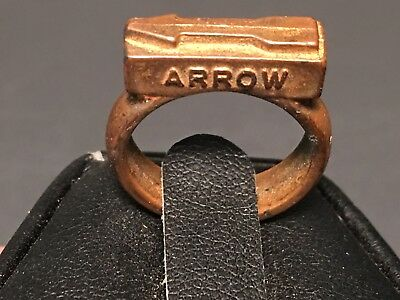 "1949 ""straight Arrow"" Bandana Gold Plastic Slide (Sta-9) Extra Fine!"