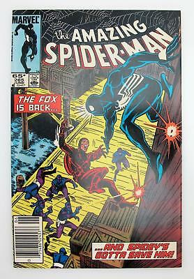 Amazing Spider-Man #265 (VF+) 8.5 Marvel 1st App of Silver Sable