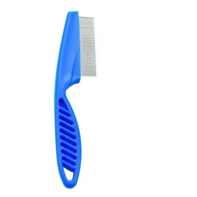 Pet Dog Cat Stainless Steel Comb Hair Brush Shedding Flea Lice Trimmer Grooming