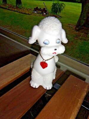"Vintage 6.5"" Spaghetti Poodle Nightlight Night Light Lamp EXCELLENT"