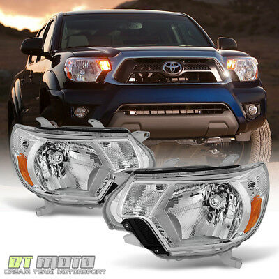 For 2012 2013 2014 2015 Toyota Tacoma Pickup TRD Headlights Headlamps Left+Right
