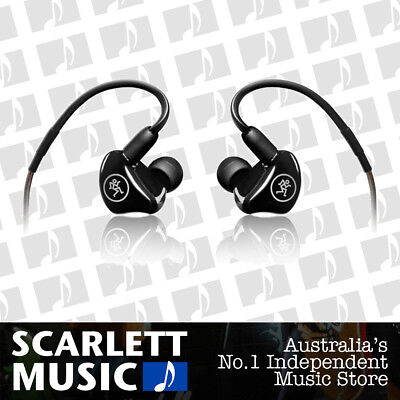 Mackie MP-120 In-Ear Monitors Single Driver Earphones Stage Sound Monitoring