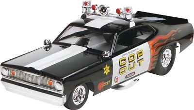 Plymouth Duster Cop Out 1/24 scale skill 2 Revell plastic model kit#4093