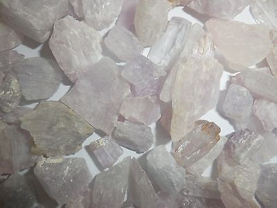 Kunzite Spodumene Crystal Stone all Pink 1 to 10 gram small pieces 500 gram Lot