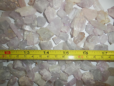 Kunzite Spodumene Crystal Stone all Pink 1 to 10 gram small pieces 30 gram Lot