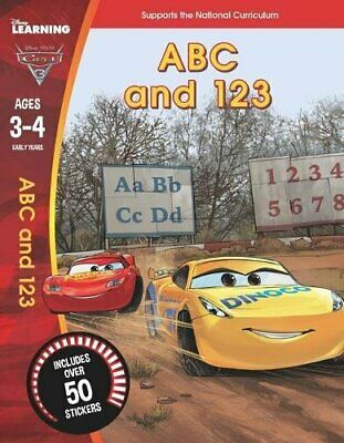 Cars 3: ABC and 123 (Ages 3-4) (Disney Learning) by Scholastic, Book The Fast