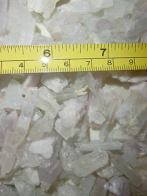 Spodumene Kunzite Hiddenite Triphane Crystal 1 to 10 g small pieces 50 gram Lot