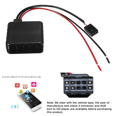"""20cm//7.9/"""" Bluetooth Module Audio 3-pin Aux Cable For BMW E39 E46 E53 With Filter"""