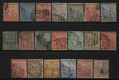 Cape of Good Hope Collection 20 Stamps Unsorted Used