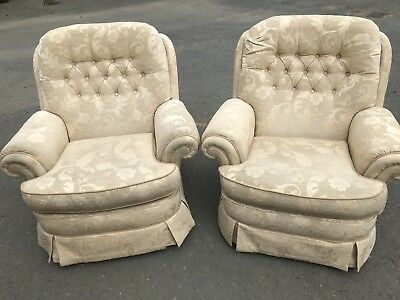Pair Very Good Quality Armchairs