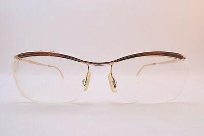 Vintage 50s gold filled eyeglasses frames Doublé Or Laminé made in France