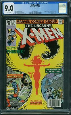 X-Men #125 CGC 9.0 WH  (1st app of Mutant X)