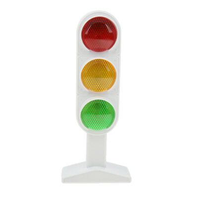 Street Road Traffic Light Miniature Red Yellow Green Stop Sign Models Toy