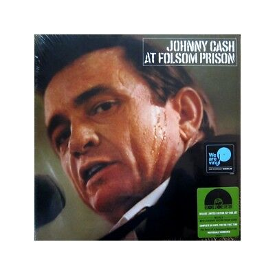 Johnny Cash - At Folsom Prison (5LP Vinyl Box, Numbered) Record Store Day 2018