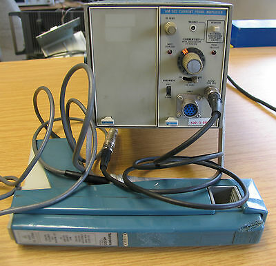 Tektronix AM503 Current Probe Amplifier & A6303 Current Probe TM502A Mainframe