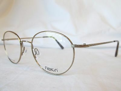 ed50bf7b0e Flexon Edison 600 Memory Metal Eyeglass Frame 710 Gold 47-19-140 New  Authentic