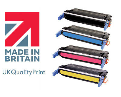 Toner Cartridge for HP 643a Q5950A Q5951A Q5952A Q5953A BLACK CYAN YELLOW RED