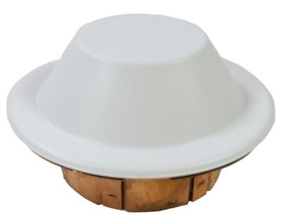 Reliable CCP Domed White Fire Sprinkler Cover Plate