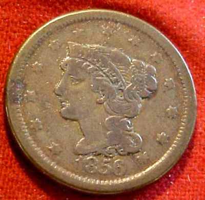 1856 Large Cent................min. Bid .01 & No Reserve!