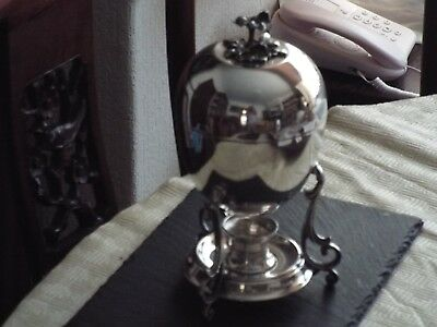 Egg Coddler / Egg Boiler Warmer  Hukin And Heath Circa 1900 Silver Plated