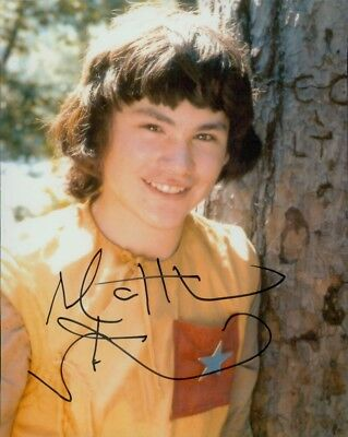 "Doctor Who Matthew Waterhouse Adric signed autograph 8x10"" photo Dr Who"