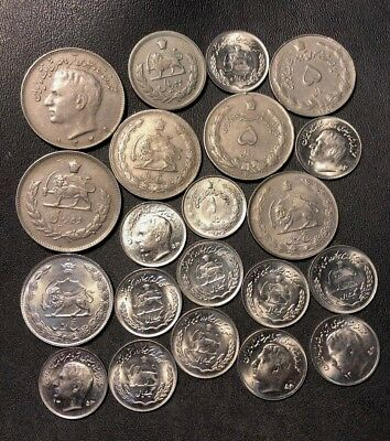 Old Middle East Coin Lot - 21 Hard to Find Coins - Lot #711