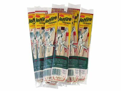 Jetfire Balsa Wood Free Flight Glider bulk 48 pack Guillows kit#0030